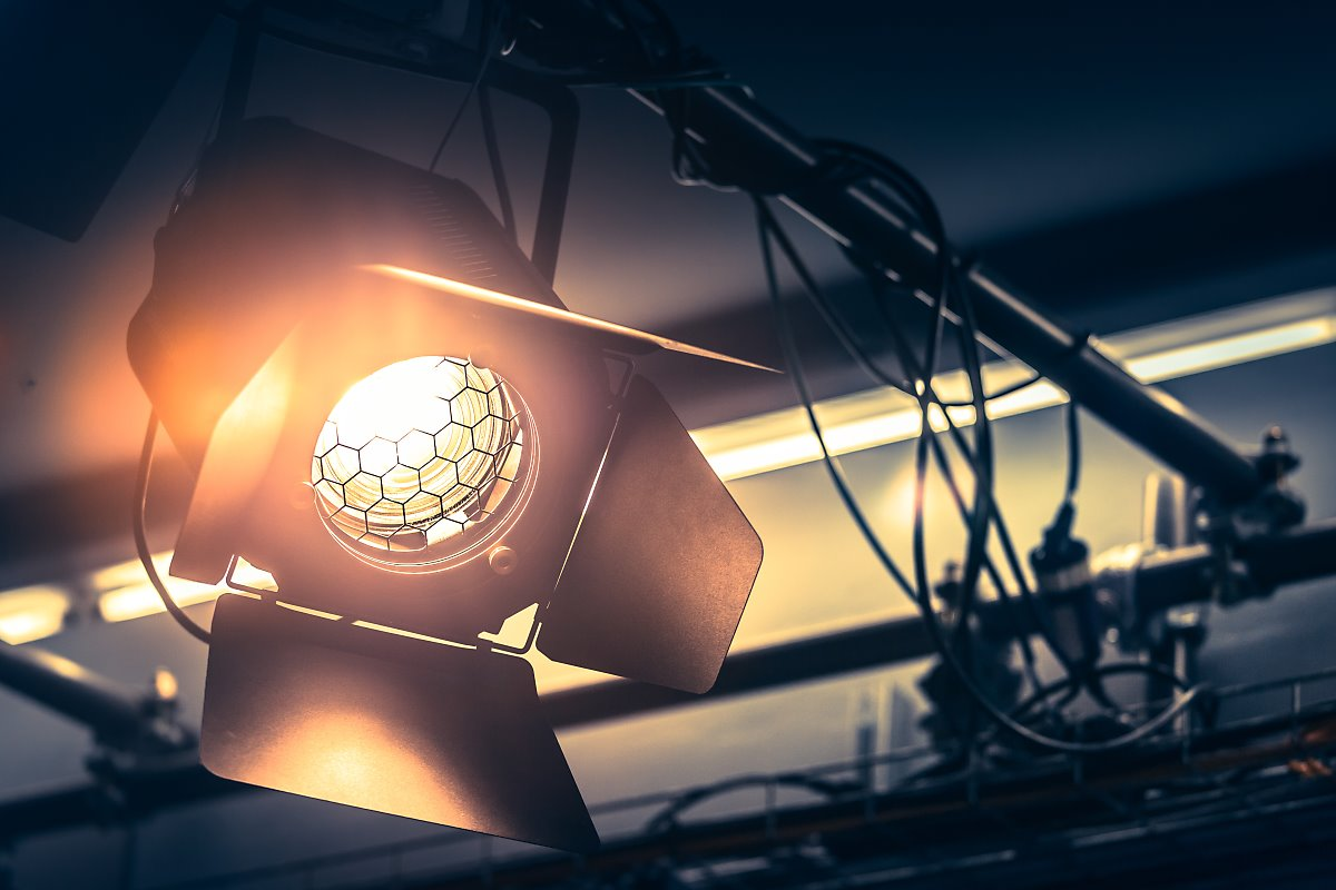 Three Types Lighting Sources Used in Video and Film
