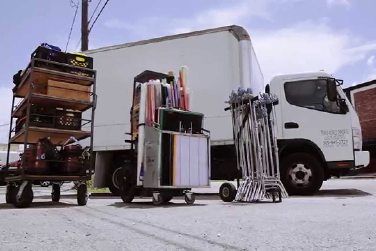 Five Types of Grip Equipment You Can Find in Grip Truck